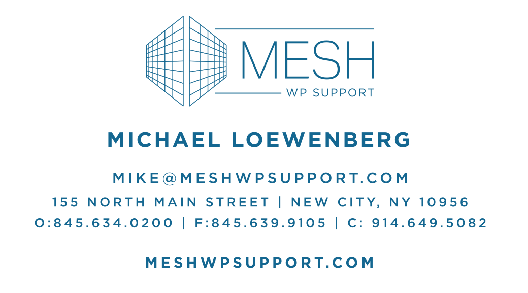MESH WP Support